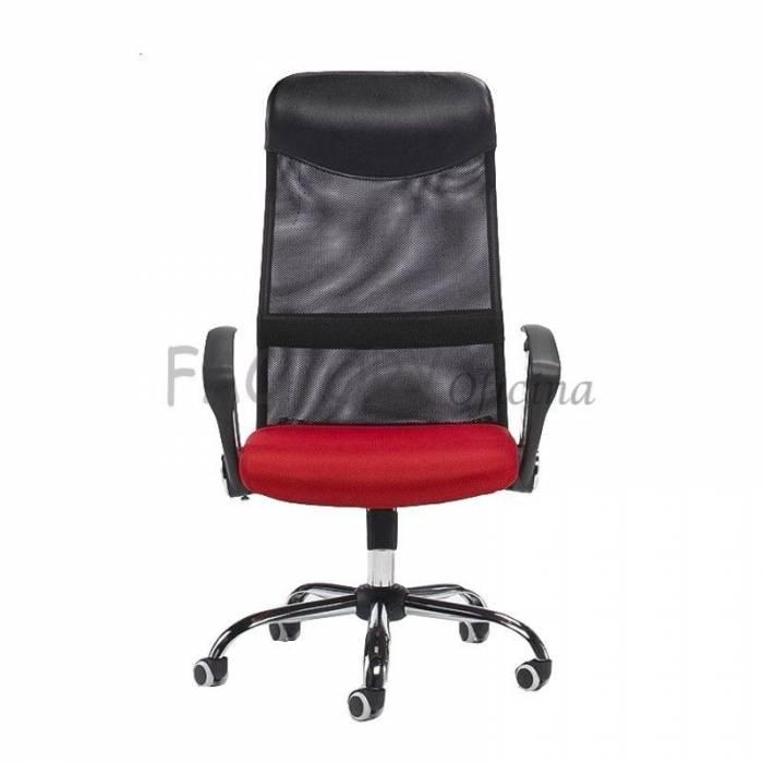 Cadeira de Gestão Modelo GYN Vermelho