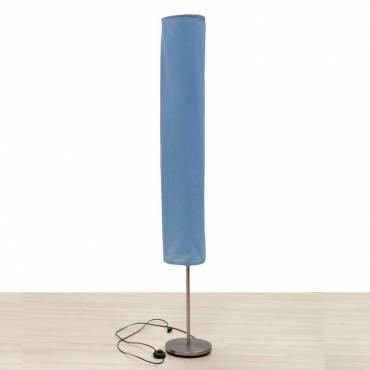 Lâmpada de assoalho azul