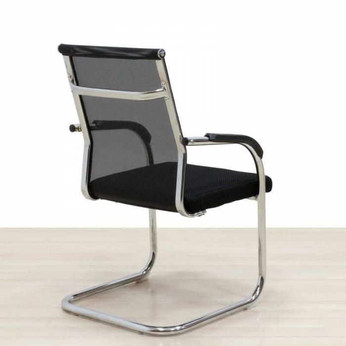 Cadeira confiante cor preta