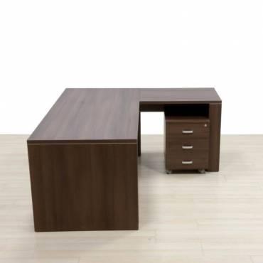 Conjunto Despacho Mesa, armario y cajonera