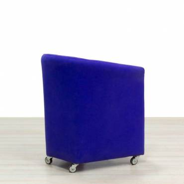 sillon espera color morado