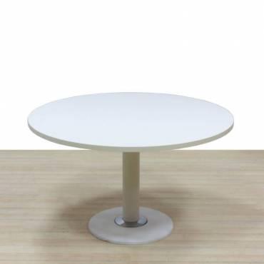 Mesa reunion redonda blanca
