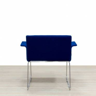 Butaca de Espera color azul