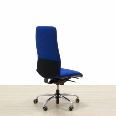 Cadeira operativa de azeitona azul