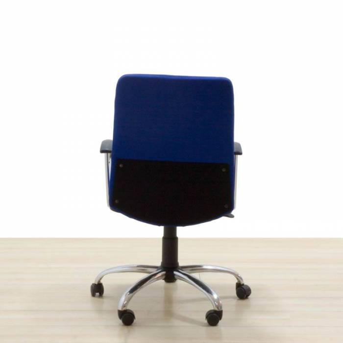 Cadeira Operativa Reupholstered em azeitona azul