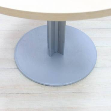 Mesa Reunión Redonda con Tapa en Haya Mod. NAR.