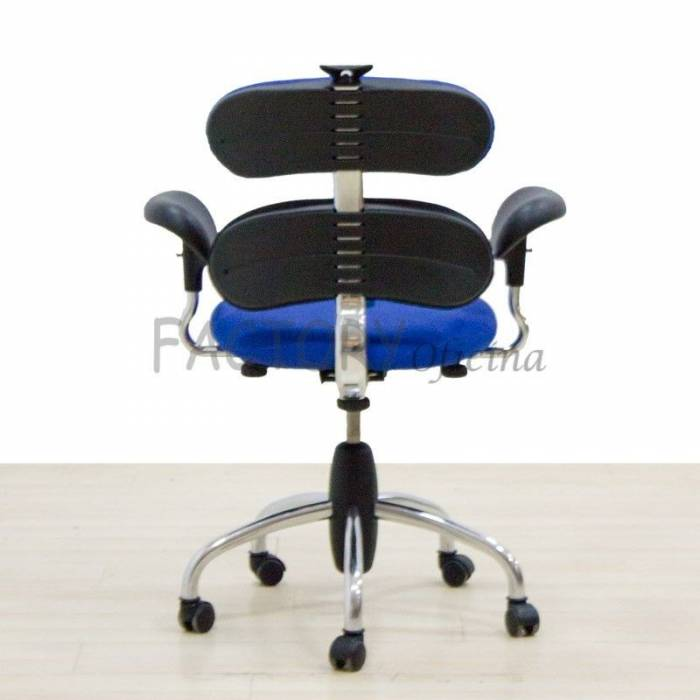 Cadeira de tarefas azul