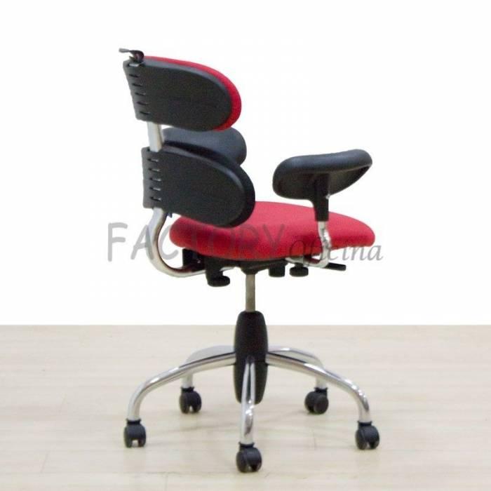 Cadeira de operação vermelha