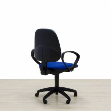 Silla Operativa Mod. COMAR Azul