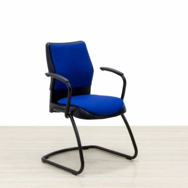 Silla Confidente STEELCASE Mod. SWIFT Azul