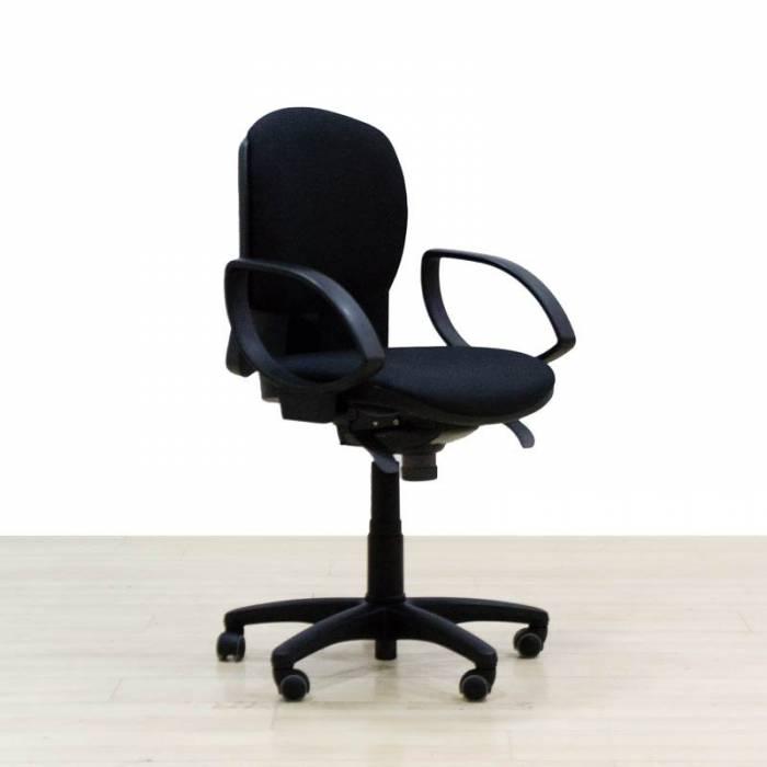 Cadeira de trabalho Mod.ALDAR, reestofada em cores para escolher.
