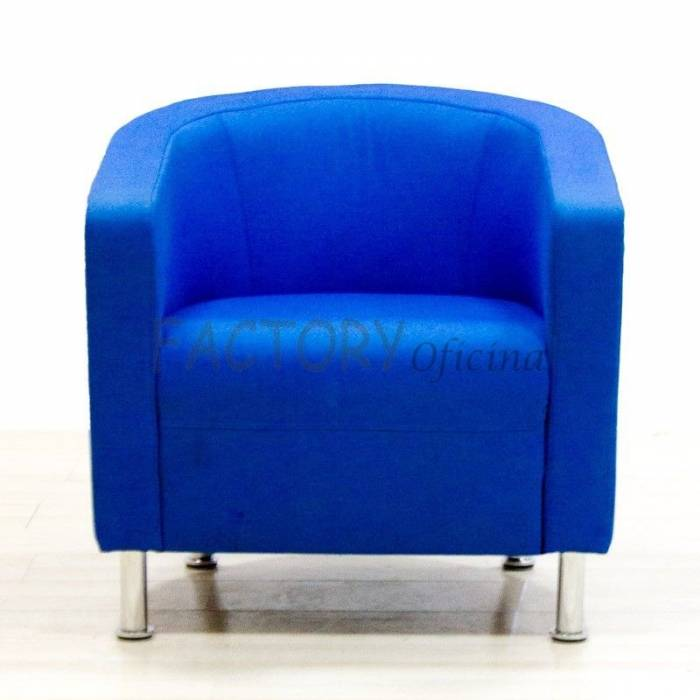 Cadeira de espera azul