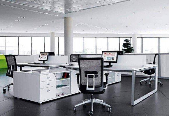 Mobiliario de oficina moderno y tendencias de diseño