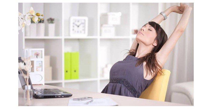 Como mantenernos saludables en la oficina.