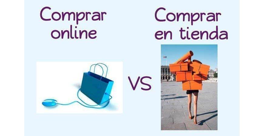 Compra de muebles en tienda vs online