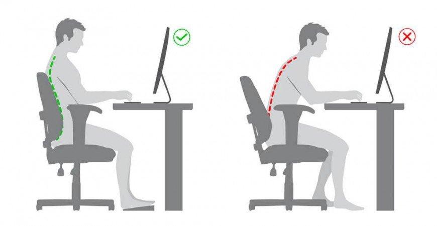 Como configurar mi silla de oficina.