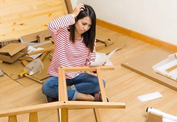 Seis consejos para el montaje de mobiliario.